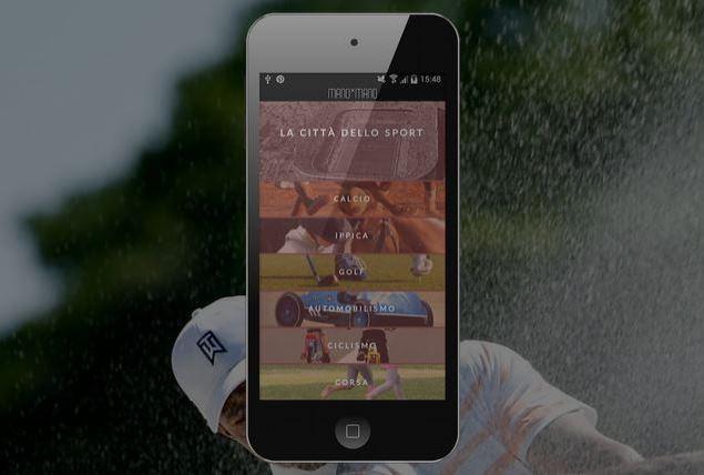 App Disport in Sport