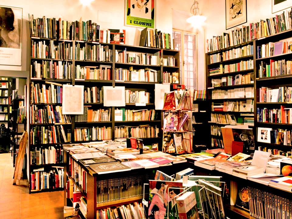 Le librerie devono avere un anima manoxmano milano for Librerie usato milano
