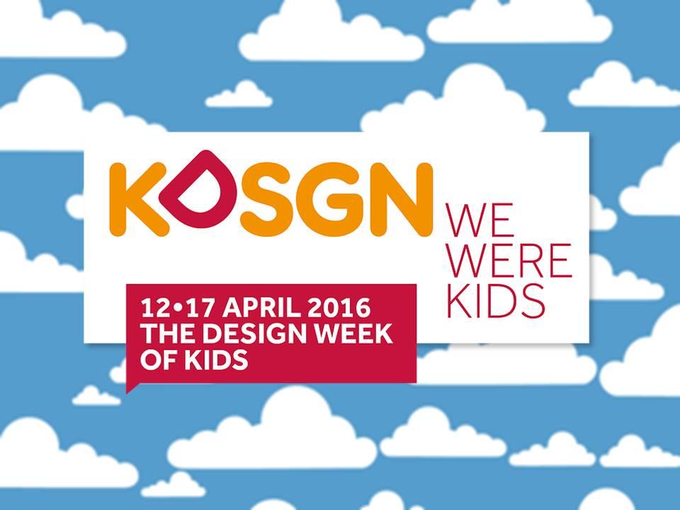 Kdsgn we were kids la design week dei bambini for Settimana del design milano 2016