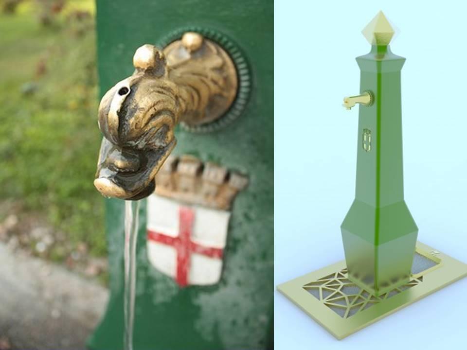 Il drago verde si veste design per l acqua di milano for Design di milano