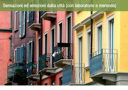 Aster per le famiglie: Sensazioni ed emozioni dalla città (con laboratorio e merenda)
